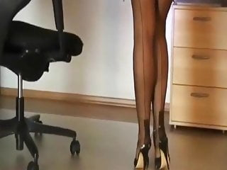Sexy legs in stockings - Sexy legs in nylon