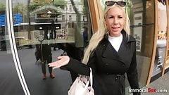 Big tit blonde gets pov railed