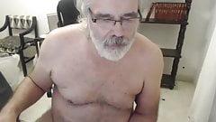 Old man daddy cum on cam 75