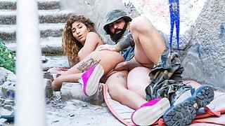 MAMACITAZ Military Sex Service For Busty Teen Venus Afrodita