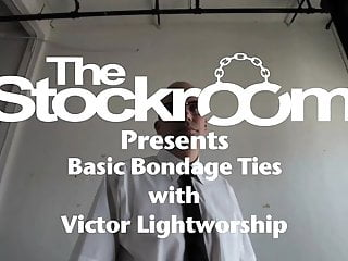 J t s stockroom gay - The leg tie with victor lightworshp and skin diamond