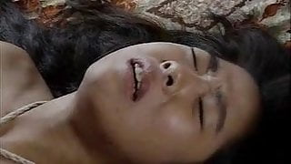 vintage - one very unhappy Asian sex slave