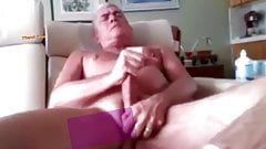 Mature White Big Dicked Daddy Jack off part 1 & 2