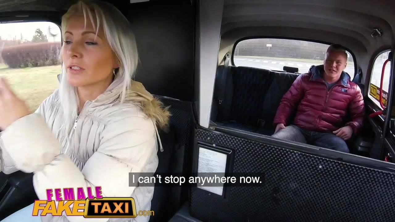 Fake Taxi Blonde Rimjob