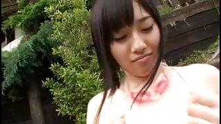 Azusa Nagasawa in swimsuit