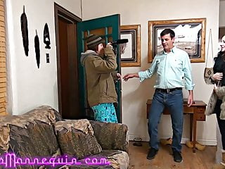 Total fucking godhead Skinny milf fucks total strangers huge mature cock audition