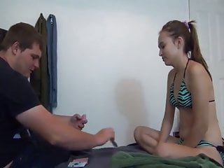 Awkward sex jokes Two roommates play cards she loses asks for awkward anal sex