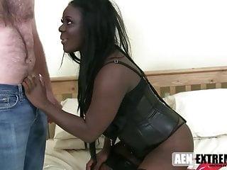 White slut for black - Ebony pornstar eden slut for white cock