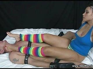 Domination foot movie slave under - Dominant latin princess makes slave worship her feet