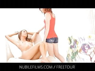 Redheaded babe - Nubile films - my model