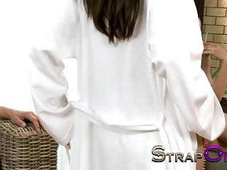 Lesbian videos latina Strapon tight european girl fucked by lovely natural latina