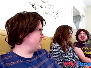 New reality porn - Uk fat chick in reality porn convinced to have threesome