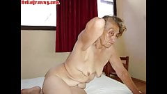 HelloGrannY Latina Moms All Naked and All Stripped