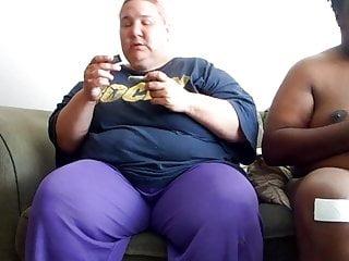 Retard fucking Fat retarded cunt sow gives hand job and head plus bonus 2