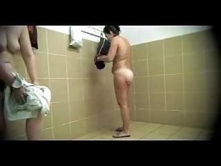 Nude men in locker shower - Hidden cam in locker - 3