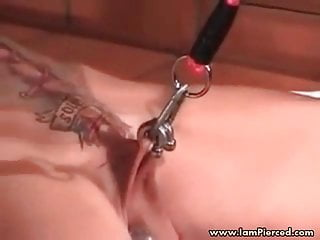Iam Pierced And Tattooed Mature Slave Big Pussy Piercings