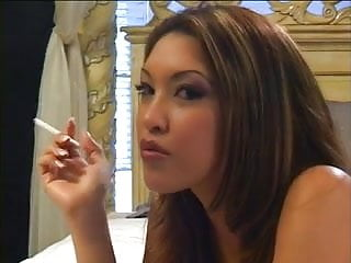 5 huge loads in her ass - Sexy asian takes a huge load in her mouth