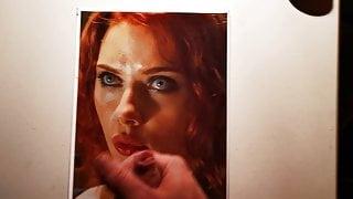 Scarlett Johansson Cum Tribute 5
