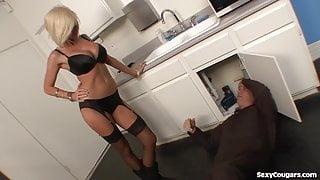 Hot Blonde Fucks The Plumber!!