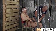 Master Sebastian Kane playing with horny twinks big cock