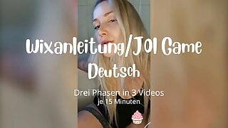 Wixanleitung mit Spiel  JOI Game in Deutsch