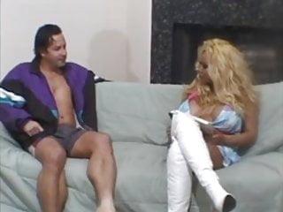 Big fake black tits Ebony with fake tits interracial.