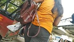 Sexy Indian Girlfriend's Ass