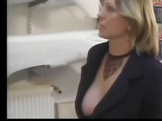 Irresistible lingerie - Irresistible french blonde milf in stockings gets fucked