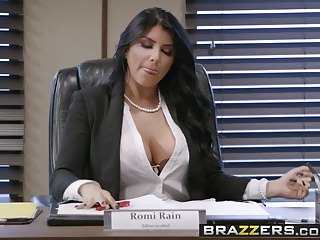 Big tits at work eva angelina - Brazzers - big tits at work - pressing news scene starring r