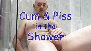 Shower Cum & Piss