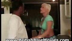 Roxy Jo - British Hardcore Interracial with Big Omar