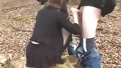 Dogging - Wife in Forest