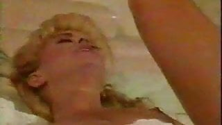 Blonde white girl with black lover - Vintage Interracial