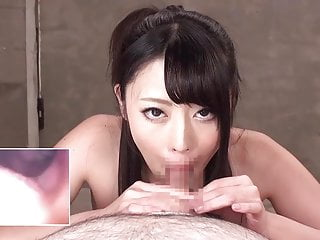 Asian internal tube Internal mouth cam suck and swallow