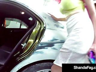 Auto auto fellatio fuck fuck self video - Creampied cougar shanda fay fucked in auto shop