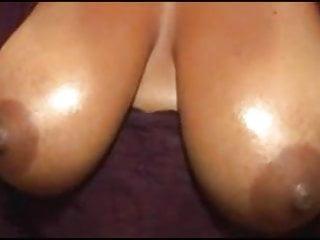 Ebony handjob Big nippled amateur ebony handjob - no cum