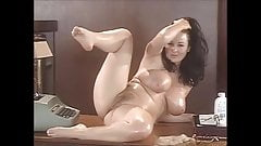 Lorna Morgan secretary in oil