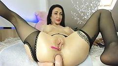 Amalia anal solo