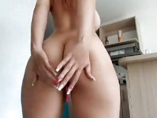 Huge boobs round asses Redhead big massive boobs tits big round ass shaved pussy