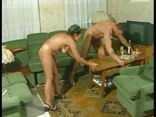 Aunt having sex with nephew Horny aunt and her athletic nephew -