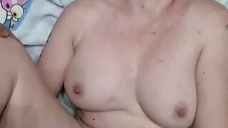 Mom asks stepson not to cum in her and he cums quick 3 times