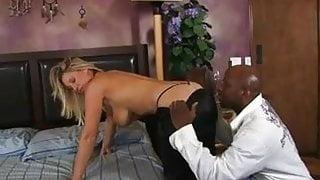 Milf with big tits fucks black cock