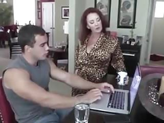 Mom has sex with stepson Hot blonde stepmom has taboo sex with stepson
