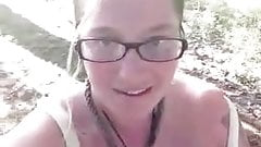 hippy girl boob flash