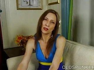 Redhead leggy milfs - Lovely leggy old spunker imagines you were fucking her pussy