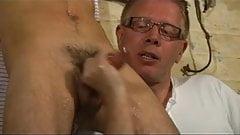 BDSM slave gay boy bound punished milked schwule jungs