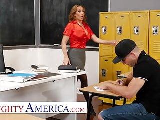 Naughty girls deep throating cock - Naughty america - richelle ryan fucks her college student