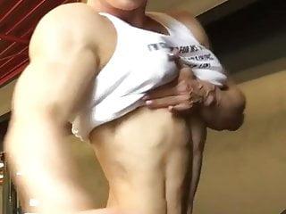 Amateur muscular boys flexing Flex appeal
