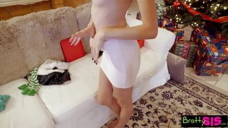 Bratty Sis - Dick In A Box Christmas Gift By Pervy StepBro