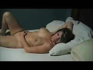 Shemale danielle foxxx fuked - Fuked my married assistant on her bed creampie